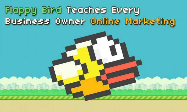 Flappy bird marketing