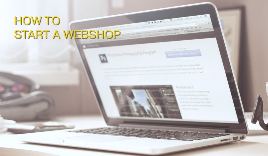 How to start a webshop