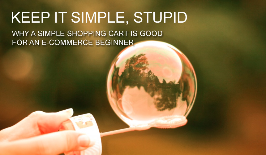Why use simple shopping-cart